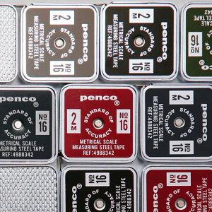 penco ペンコ ポケットメジャー 巻尺 コンパクト 小さい 携帯 2m おしゃれ かわいい