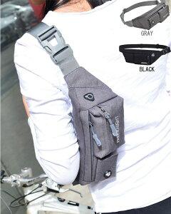 ウエストポーチ 大容量 ウエストバッグ 軽量 ランニング バッグ ランニング ポーチ スマホ レディース・メンズ兼用 防滴 大容量 ベルト調節可能 イヤホン専用穴