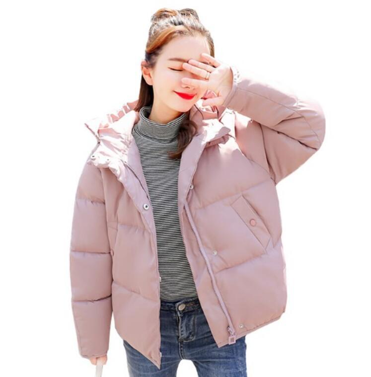 送料無料 激安 フード付きコート 中綿コート レディースショート丈コート ダウンジャケット 4色選択可 大きいサイズ スタンドカラー シンプルコート キルティングコート レディースアウター M/L/XL/XXL