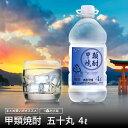 【ランキング1位獲得】 激安 焼酎 4L ホワイトリカー 甲類焼酎 【お買い得】五十丸 業務用 大容量 25度 糖質オフ 〈…