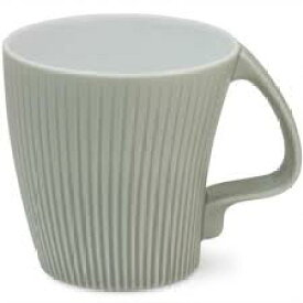 白山陶器 ストレッチマグ グレー 和食器 波佐見焼 マグカップ