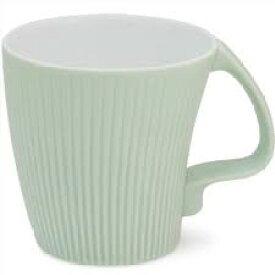 白山陶器 ストレッチマグ グリーン 和食器 波佐見焼 マグカップ