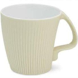 白山陶器 ストレッチマグ ベージュ 和食器 波佐見焼 マグカップ