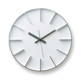 TAKATA Lemnos-Lemnos AZUMI edge clock silver AZ-0115 AL Interior, furniture, storage clocks clocks and other