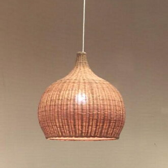 HUG original rattan pendant lamp M Western-style pendant light 6 tatami business