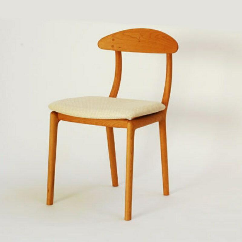 宮崎椅子製作所 KAKInoISU カキノイスチェア(背無垢) 古田恵介デザイン Miyazaki Chair Factory