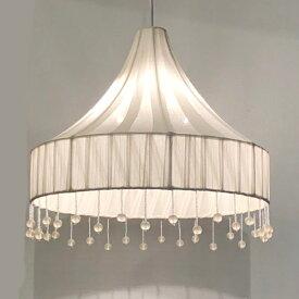 HUGオリジナル クリアボンボンビーズペンダントランプ 天井照明 吊り式照明 LED対応