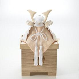 HAKI(ハキ)端午の節句飾り 兜飾り(白粋)