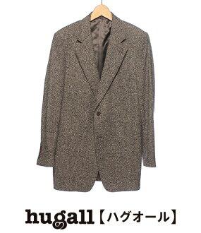 CANALI Canali 大小 L 粗花呢夹克
