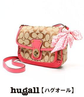 Coach signature shoulder bag 10569 pink COACH Lady's