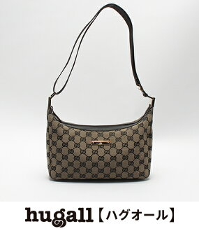 Gucci GG pattern canvas shoulder bag 019 0433 002122 GUCCI Lady's