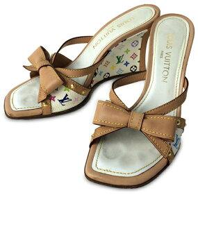 路易威登SIZE约23cm(M)交织字母多色凉鞋LOUIS VUITTON女士