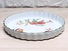 【中古】美品 ロイヤルウースター イブシャム 27cm タルト皿 ディッシュ