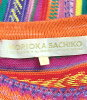 moriokasachiko SIZE L(L)丰富多彩的编织物MORIOKASACHIKO女士