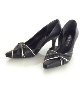 Diana SIZE approximately 21cm (less than XS) ribbon pumps DIANA Lady's