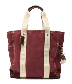 Coach 2WAY canvas tote bag 70005 COACH is unisex