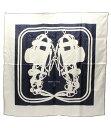 エルメス カレ90 BRIDES de GALA 式典用の馬勒 シルクスカーフ HERMES レディース【中古】