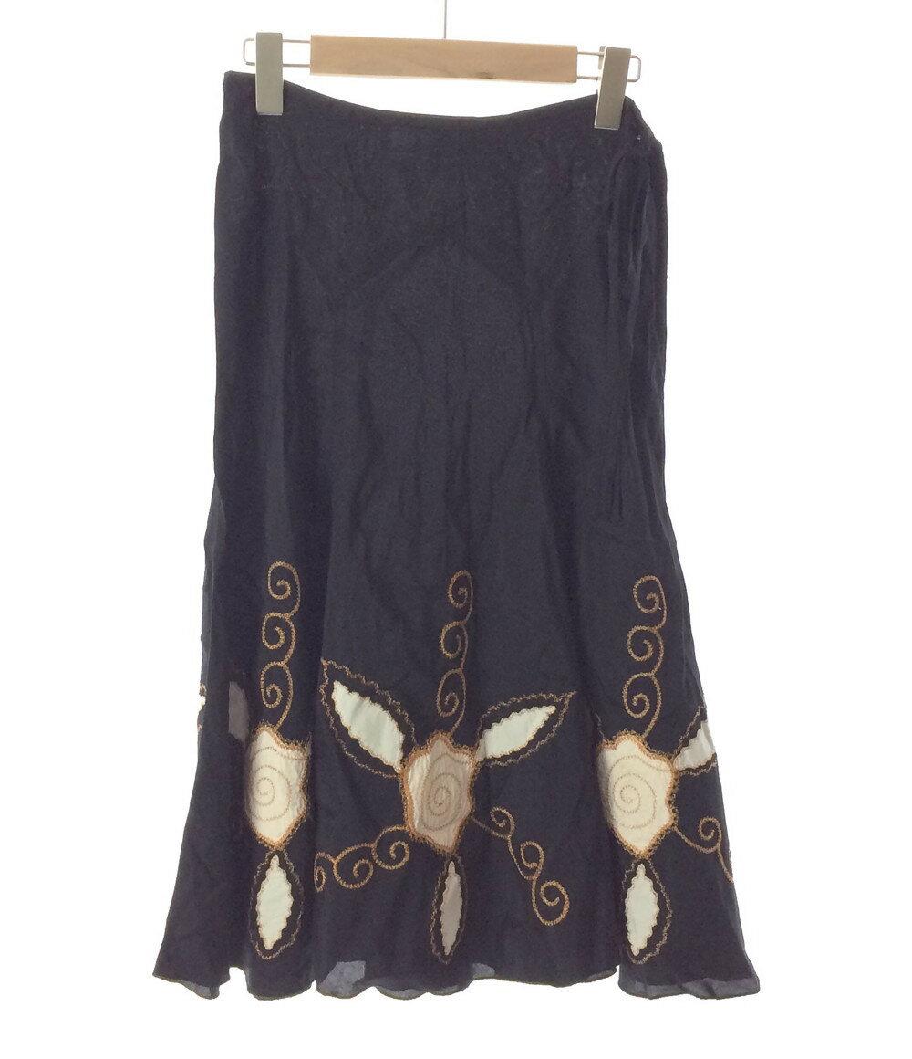 シーバイクロエ SIZE 38 (M) 刺繍スカート SEE BY CHLOE レディース【中古】