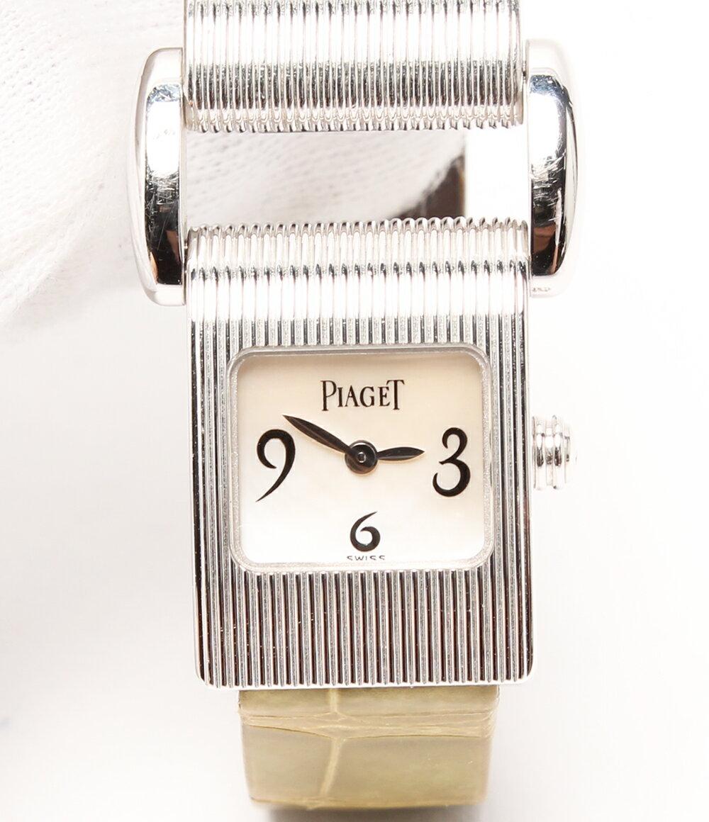 ピアジェ 750 ミスプロトコール K18 5221 クオーツ 腕時計 PIAGET レディース【中古】