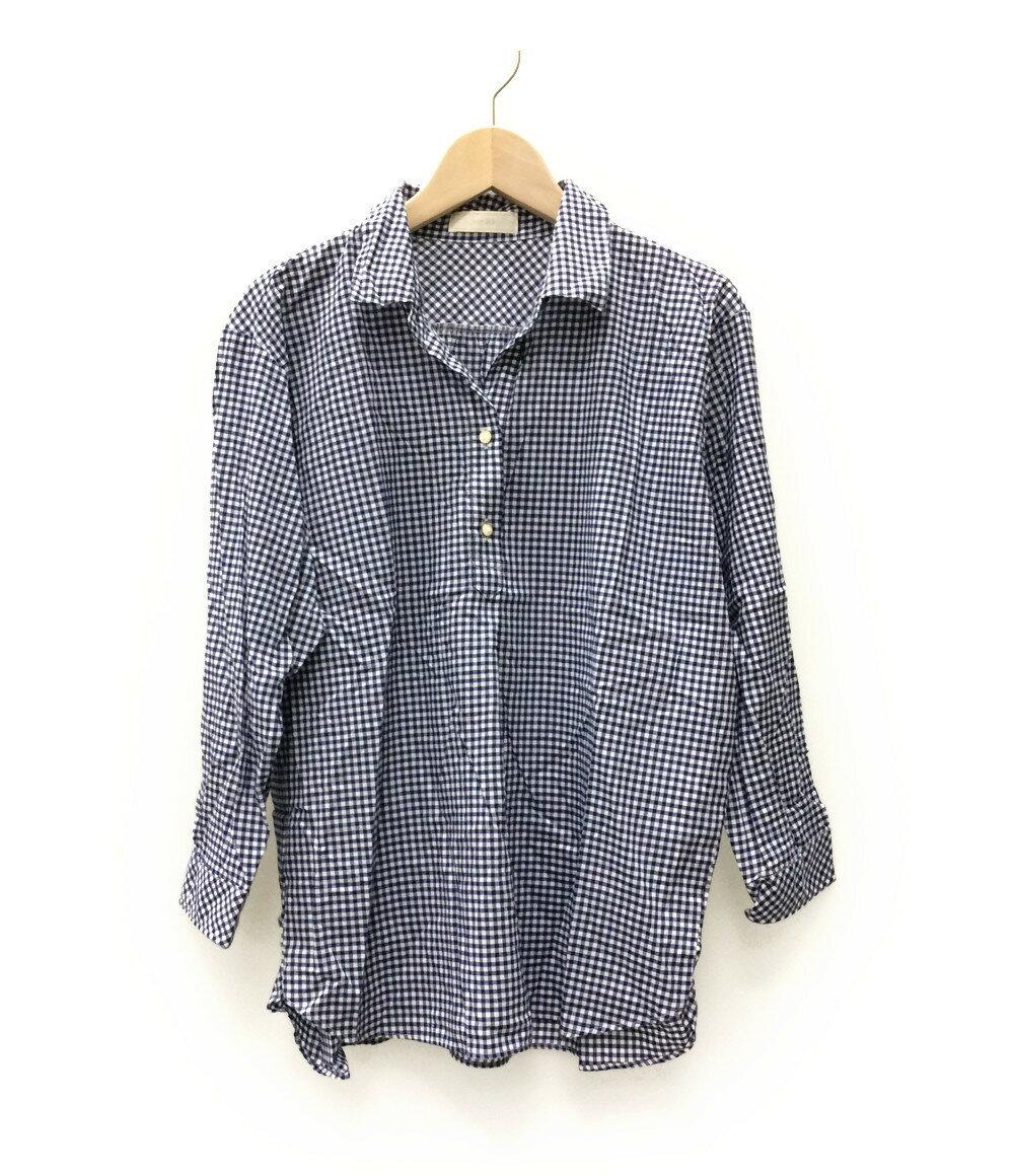 エニィスィス SIZE 2 (M) ギンガムチェック シャツ any sis レディース【中古】 【福】