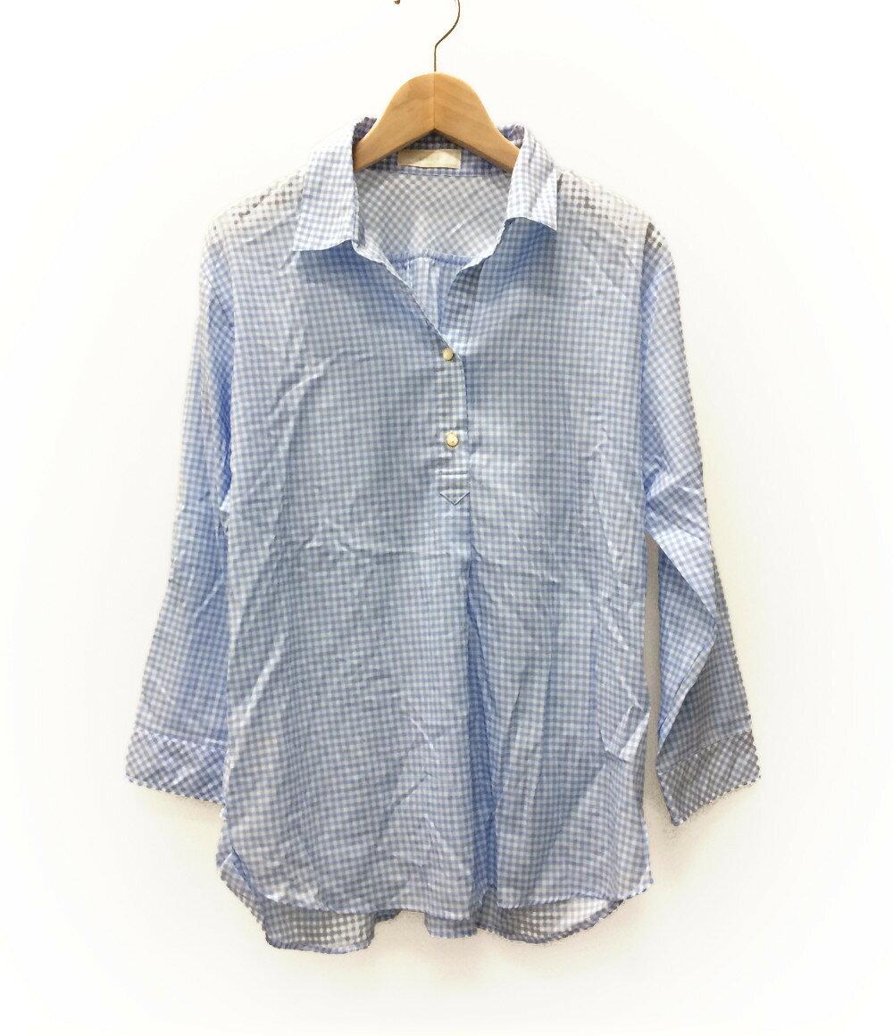 エニィスィス SIZE 2 (M) ギンガムチェックシャツ any sis レディース【中古】 【福】