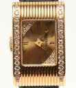 ブシュロン リフレ YG ダイヤ クォーツ 腕時計 ゴールド BOUCHERON レディース【中古】