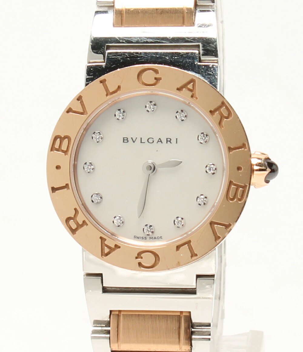 ブルガリ 腕時計 ブルガリブルガリ BBLP26SG L0907 クオーツ シェル 12PD Bvlgari レディース 【中古】