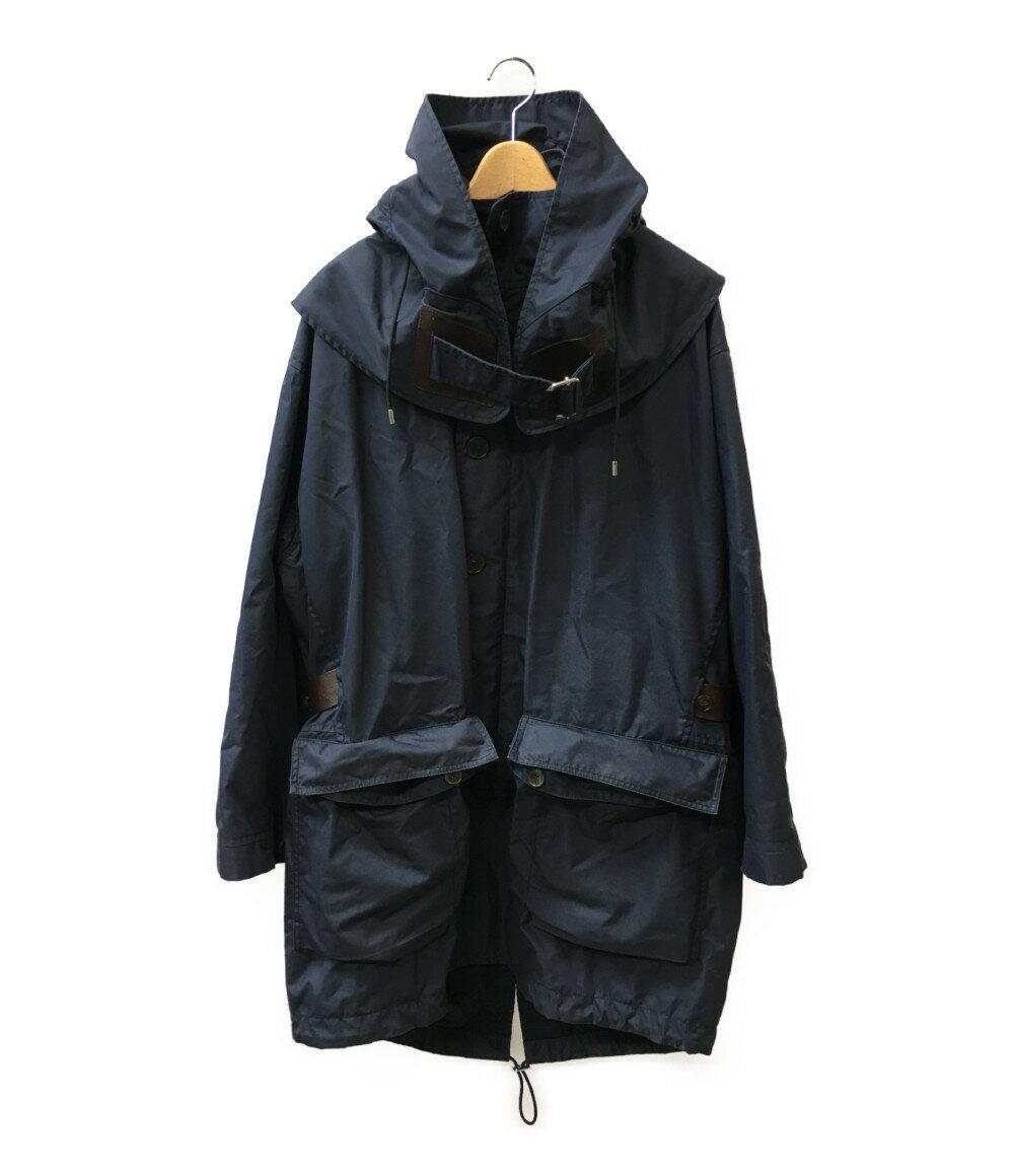 グッチ SIZE 48 (L) レザーベルト付 コート GUCCI メンズ 【中古】