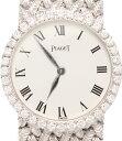 ピアジェ 腕時計 926 手巻き K18 WG ダイヤベゼル ホワイト文字盤 PIAGET レディース 【中古】