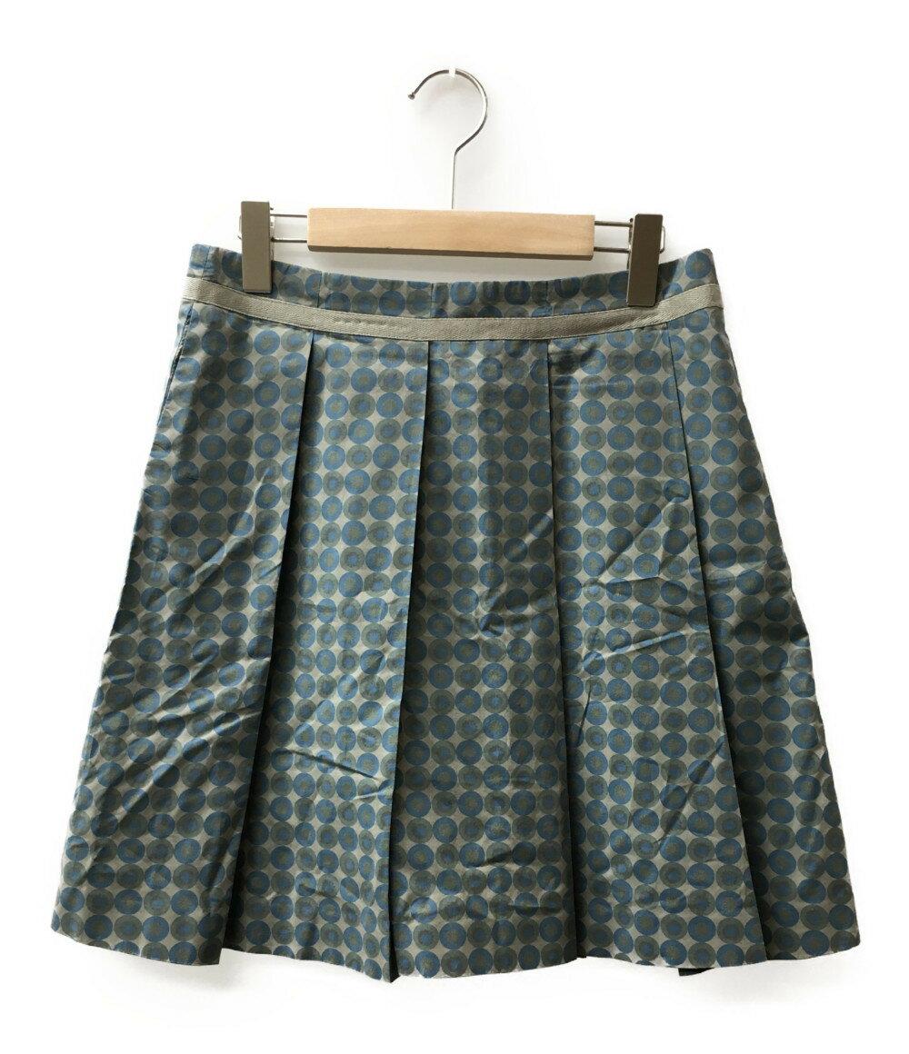 美品 シーバイクロエ SIZE USA4 (S) ボックスプリーツ スカート SEE BY CHLOE レディース 【中古】
