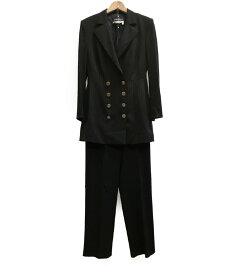 【中古】サルバトーレフェラガモ SIZE I 40 (M) パンツスーツ Salvatore Ferragamo レディース