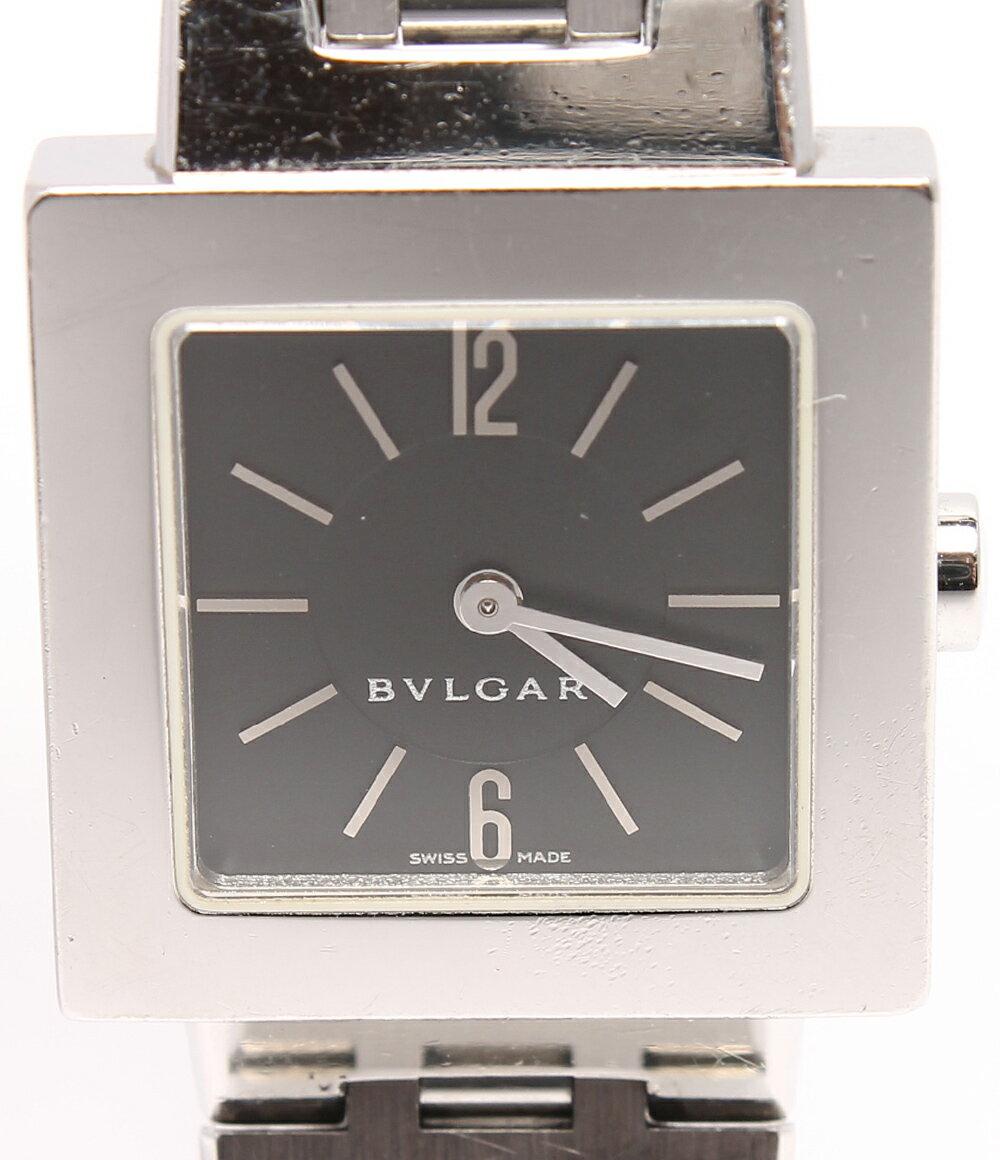 ブルガリ 腕時計 クアドラード SQ22SS クオーツ Bvlgari レディース 【中古】