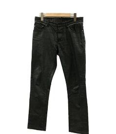【中古】バレンシアガ SIZE 28 (S) コーティング加工 デニムパンツ Balenciaga メンズ