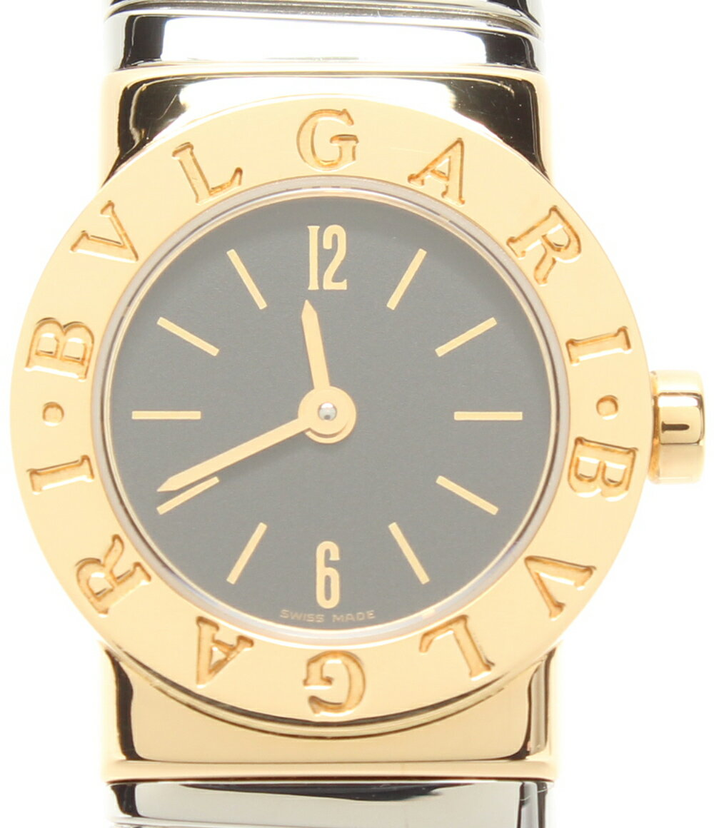 【中古】美品 ブルガリ 腕時計 ブルガリブルガリ BB19 2T クォーツ Bvlgari レディース
