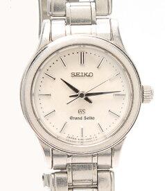 【中古】グランドセイコー 腕時計 4J51-0AA0 クオーツ ホワイト Grand Seiko レディース
