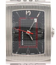 【中古】美品 ブシュロン 腕時計 リフレ 自動巻き BOUCHERON メンズ