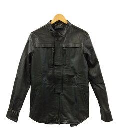 【中古】ディーゼルブラックゴールド SIZE 48 (L) レザージャケット DIESEL BLACK GOLD メンズ