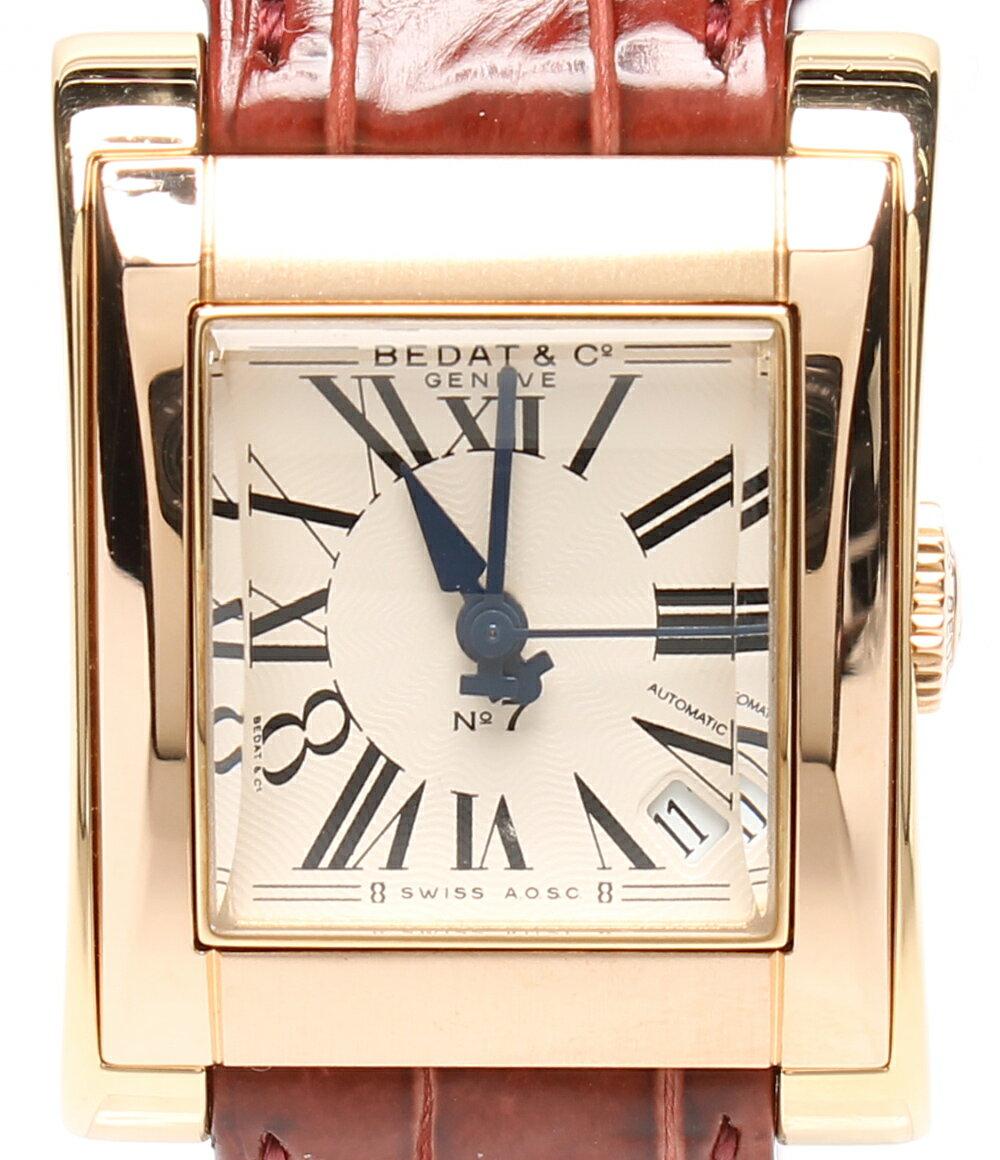 美品 ベダアンドカンパニー 自動巻き腕時計 NO7 727 自動巻き BEDAT&Co. レディース 【中古】
