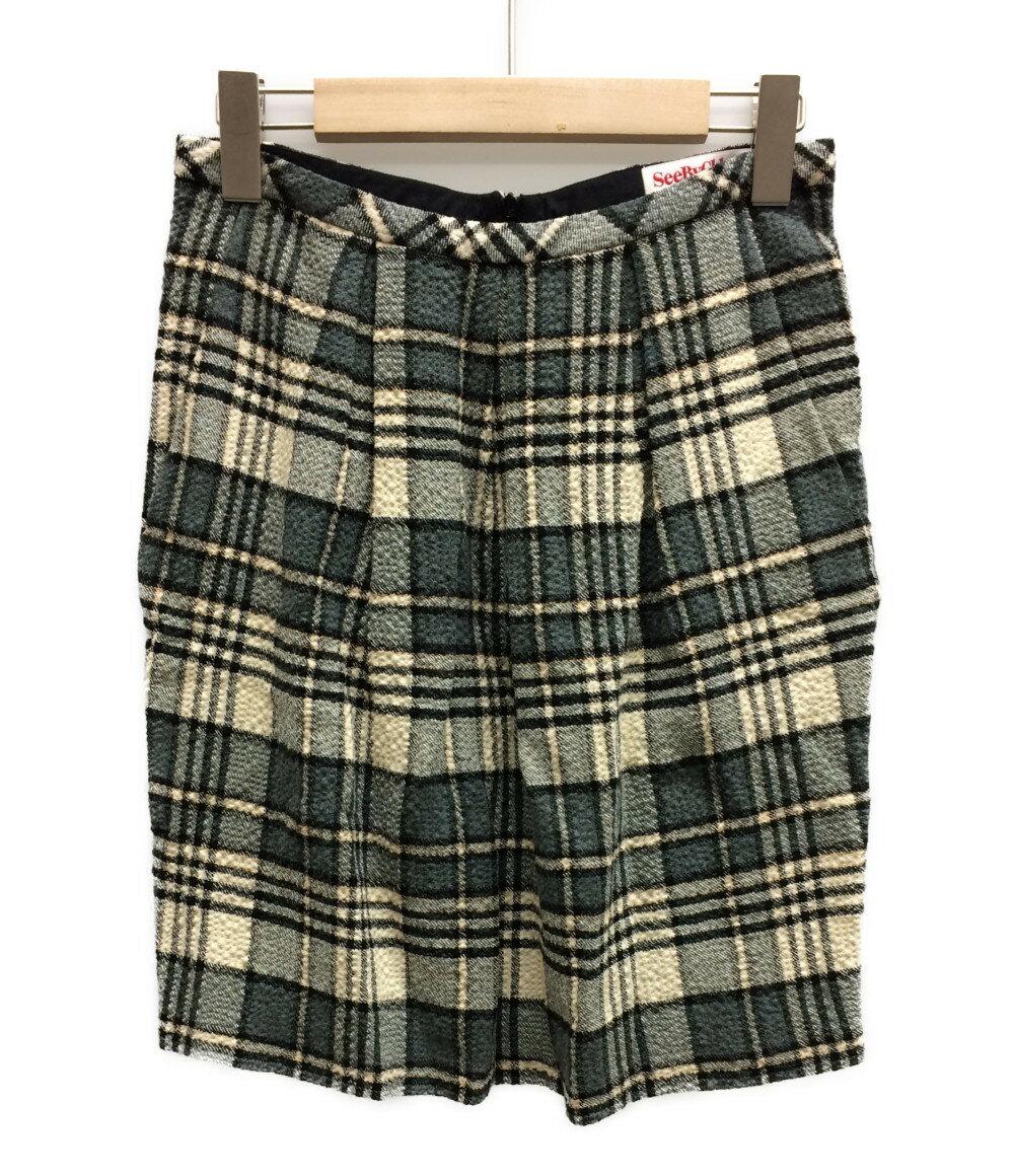 美品 シーバイクロエ SIZE I 38 (S) スカート SEE BY CHLOE レディース 【中古】