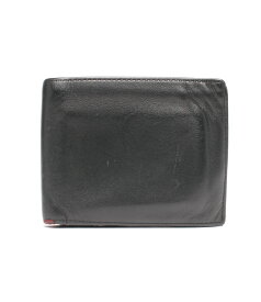 【中古】トゥミ レザー二つ折り財布 TUMI メンズ