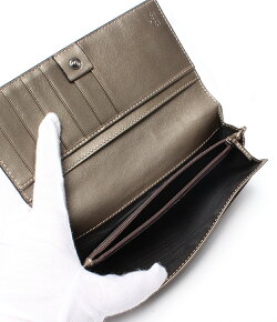 【中古】美品グッチ長財布146229グッチシマ493075レディースGUCCI