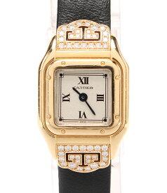 【中古】カルティエ 腕時計 クォーツ 1130 レディース Cartier