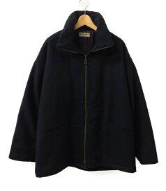【中古】アルマーニコレッツォーニ 中綿ジップアップジャケット ブルゾン メンズ SIZE 44 (L) ARMANI COLLEZIONI