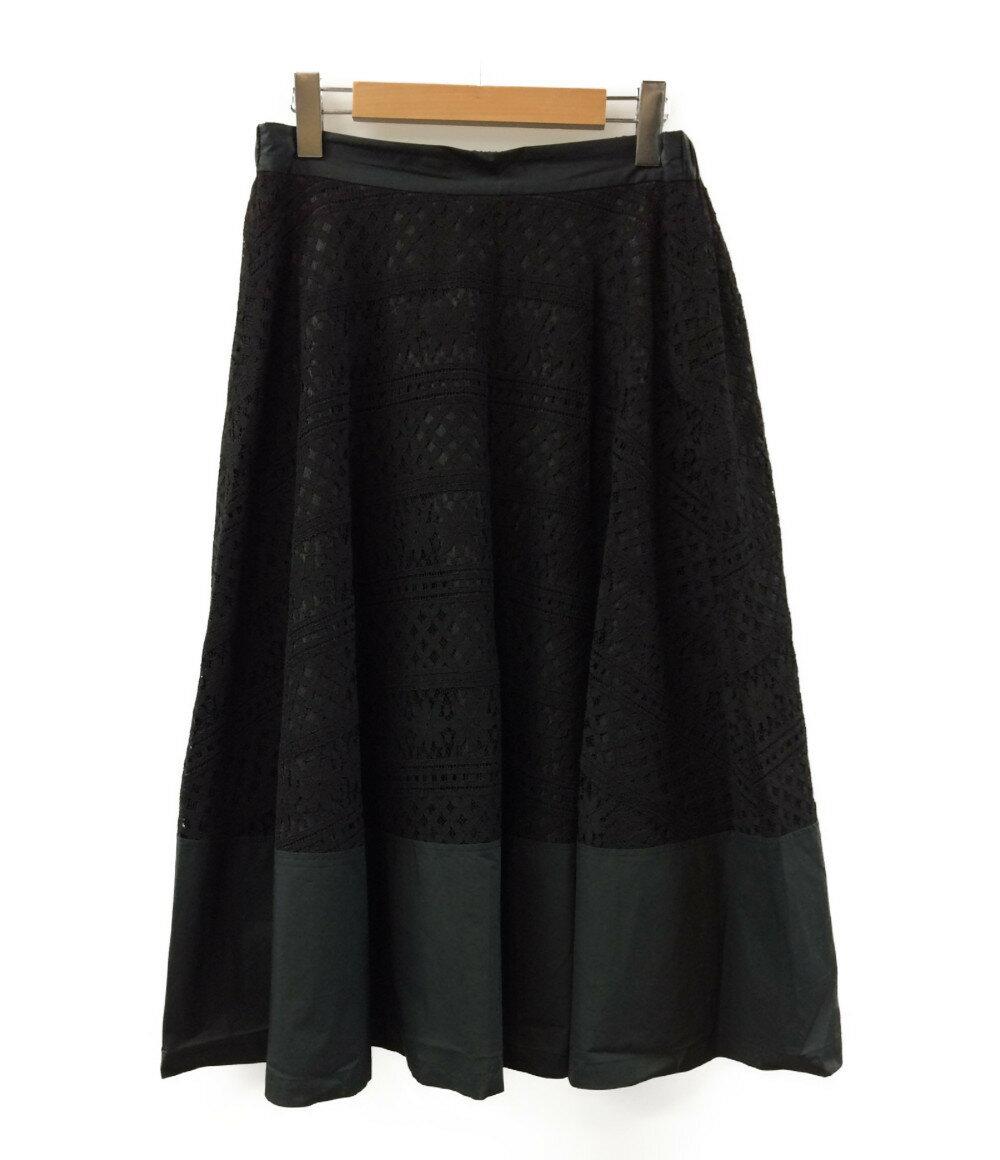 【中古】美品 グランマママドーター レーススカート レディース SIZE 1 (S) GRANDMA MAMA DAUGHTER