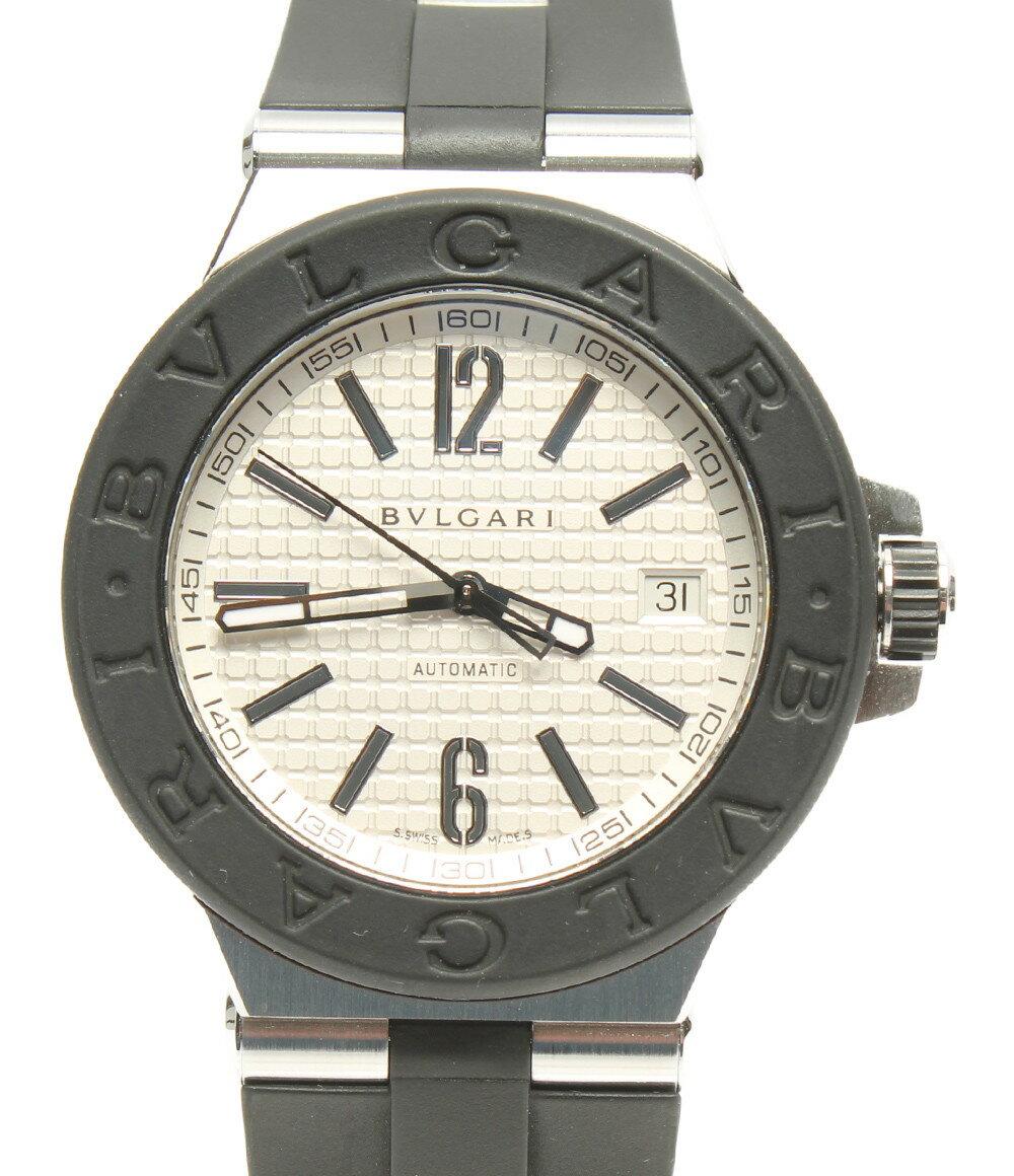 【中古】ブルガリ 腕時計 ディアゴノ 自動巻き DG40SV メンズ Bvlgari