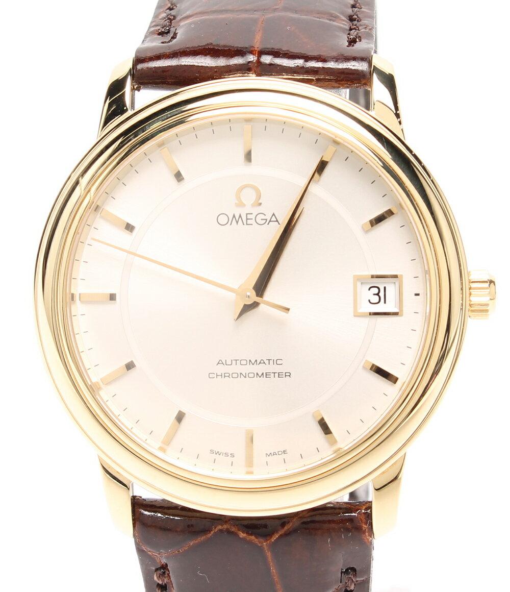 【中古】美品 オメガ 腕時計 デビルプレステージ 自動巻き シェル 168.1050 メンズ OMEGA