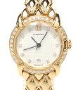 【中古】美品 ショーメ 腕時計 K18 ダイヤ クォーツ レディース CHAUMET