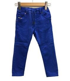 【中古】美品 ディーゼル ジョグジーンズ デニムパンツ KROOLEY-NE-K 00T0CB キッズ SIZE 4Y (110サイズ) DIESEL