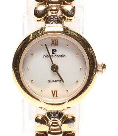 【中古】ピエールカルダン 腕時計 クオーツ シェル レディース pierre cardin