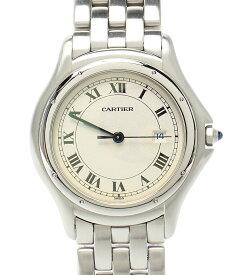 【中古】カルティエ 腕時計 パンテール クーガーLM クォーツ 987904 メンズ Cartier